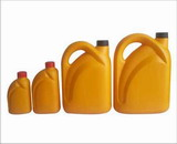 plastic oil can from blow molding factory