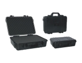 china black plastic tool cases