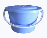 Blue Plastic Bucket