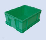 green plastic containers