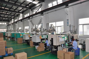 china plastic product factory workshop